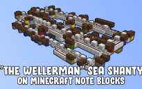 """The Wellerman"" Sea Shanty on Minecraft Note Blocks"