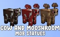 Cow and Mooshroom Mob Statues