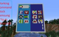 Working Command Block Samsung ZFlip / ZFold 2 V1 In Minecraft