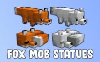 Fox Mob Statues
