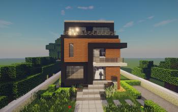 Modern House #58