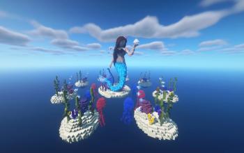 SkyWars map - Aqua