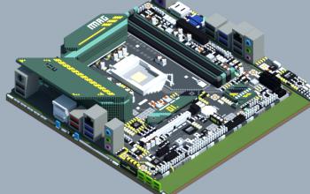 Intel B560M-BAZOOKA (MSI MAG Series)