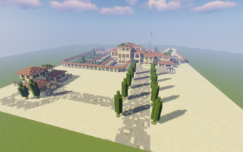 Spanish Mansion (Build in 1.16.5)