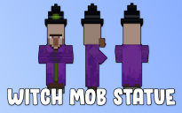 Witch Mob Statue