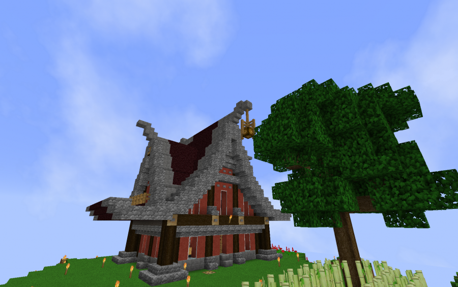 Minecraft japan style house