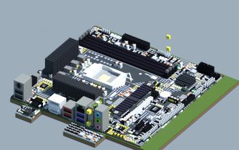 Intel B560M PRO-VDH WIFI (MSI Pro Series)