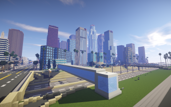 Minecraft Los Angeles Map It was postponed