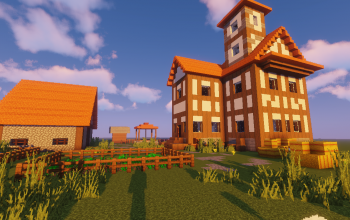 Medieval House #2 Farm Map (Map + Schematics)