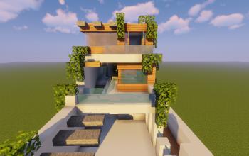 Modern House #87 (Brazilian Modern House)