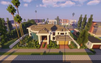Modern Neighborhood Map + Pack #3 (10 Houses)