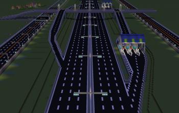 Expressway interchange