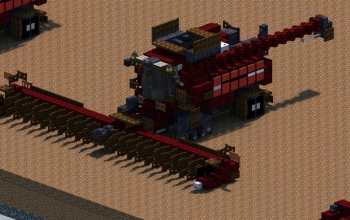 Case IH 9240 Combine Harvester