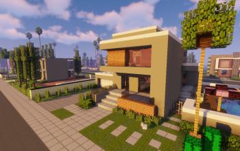 Modern Neighborhood Map + Pack #4 (10 Houses)