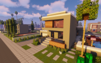 Modern Neighborhood Map + Pack #4 (10 Houses)