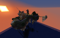 Floating island spawn perfect for SMPs and other servers