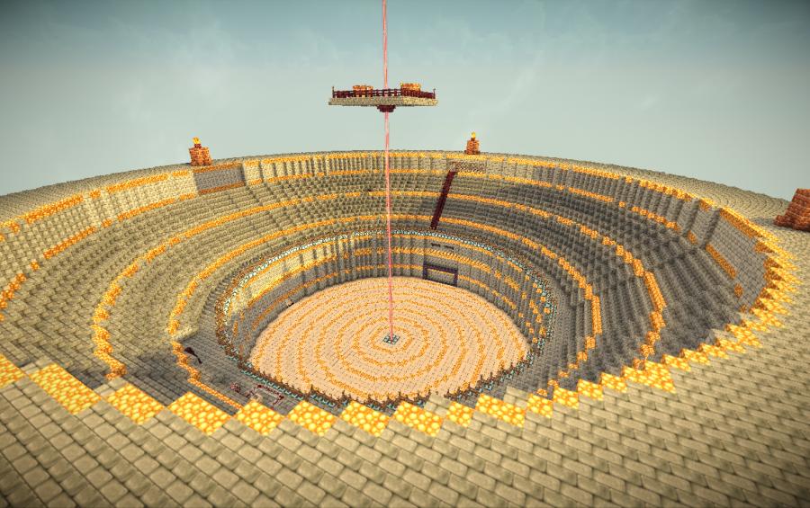 Minecraft Arena Schematic - trainerdoops's blog
