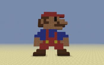 Super Mario 8-Bit Style [Standing]