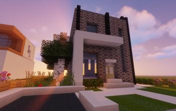 Modern House # 97 (Map + Schematic)