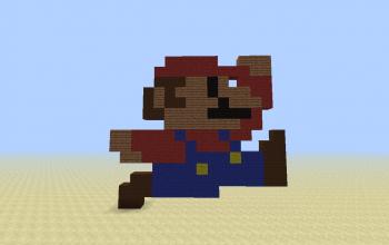 Super Mario 8-Bit Style [Jumping]
