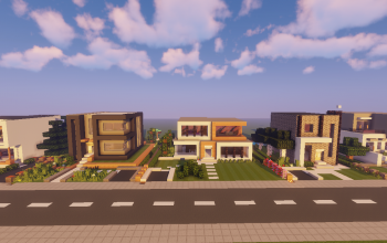 Modern House Pack 1 Map + Schematics