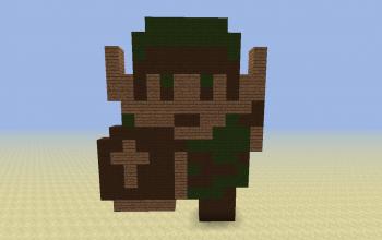 Link 8-Bit Style