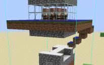 Simple Iron Farm w/ Chicken Farm