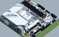 Intel B560M-SILVER (Ver 5.x) (BIOSTAR RACING Series)