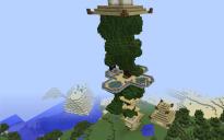 large cozy tree house