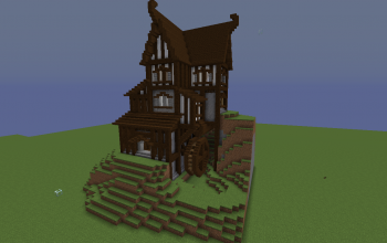 Medieval Town Collection 1 Watermill