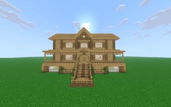 Big Wooden Mansion