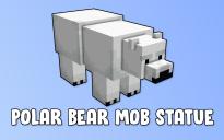 Polar Bear Mob Statue