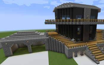 small mansion with property