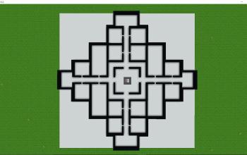 5x5 Chunk Organized Floorplan