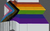 Pride Flag Map