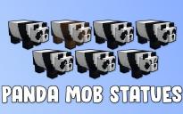 Panda Mob Statues