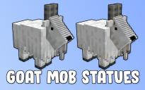 Goat Mob Statues