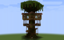 Huge Tree House (1.17+)