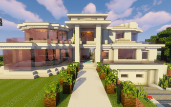 Top 5 Modern House #1 (Map + Schematic)
