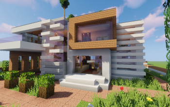 Top 5 Modern House #2 (Map + Schematic)