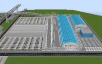 Light-rail depot