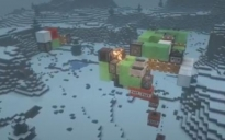 Self-returning 3-directional TNT quarry