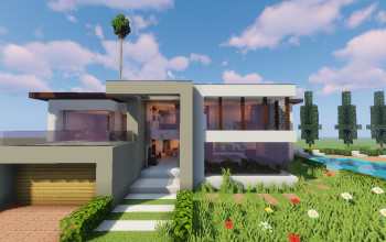 Top 5 Modern House #1 Pt 5
