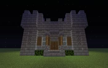 Castle in chunk