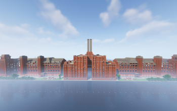 MASSIVE industrial age factory