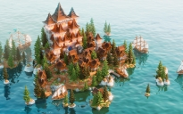 Large Server Hub ❯ Stoneland Village