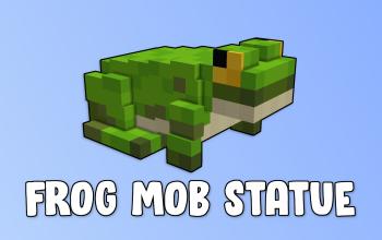 Frog Mob Statue