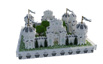 Factions Spawn ❯ HQ Build with a lot of detail 150x150