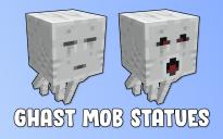 Ghast Mob Statues