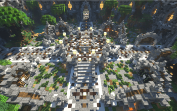 Free Medieval / Nature Minecraft Faction Spawn (280×280)